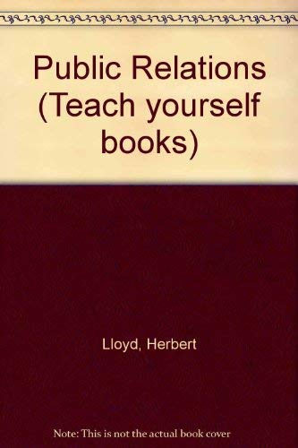 9780340222744: Public Relations (Teach yourself books)