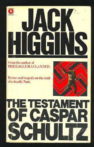 9780340223321: The Testament of Caspar Schultz