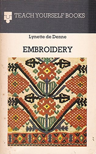 9780340223956: Embroidery (Teach Yourself)