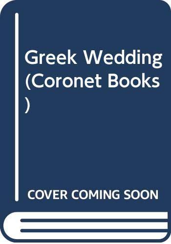 9780340224717: Greek Wedding