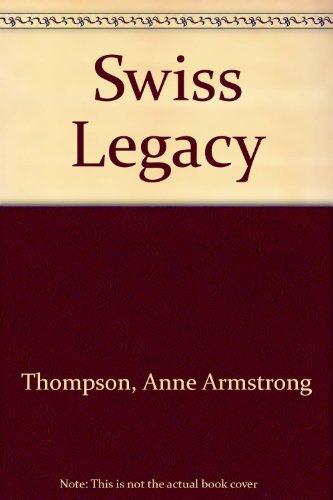 9780340228241: Swiss Legacy