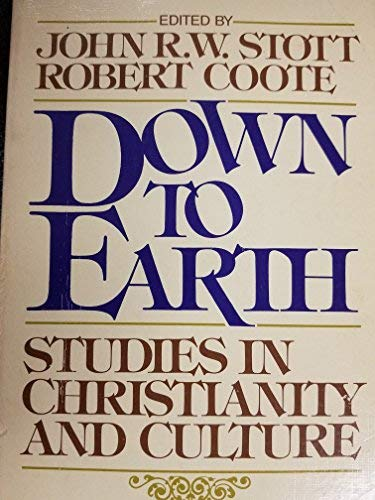 9780340232637: Down to Earth: Studies in Christianity and Culture