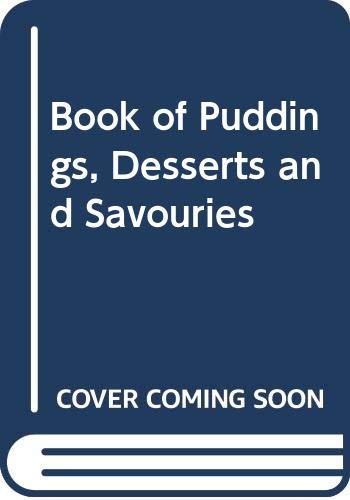 9780340237205: Book of Puddings, Desserts and Savouries
