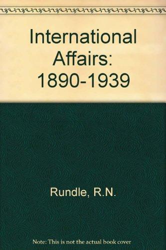 9780340243367: International Affairs: 1890-1939