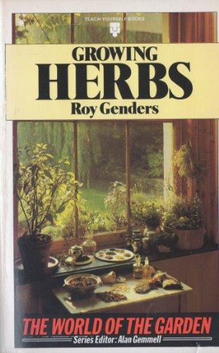 Growing Herbs: Genders, Roy