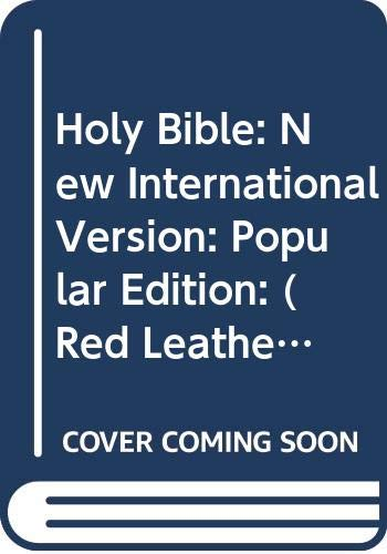 Holy Bible: New International Version: Popular Edition: