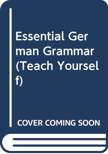 9780340261606: Essential German Grammar