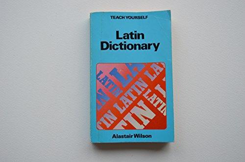 9780340261668: Latin Dictionary Teach Yourself