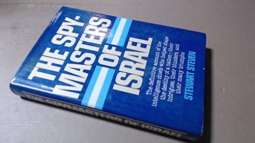 9780340262481: Spymasters of Israel