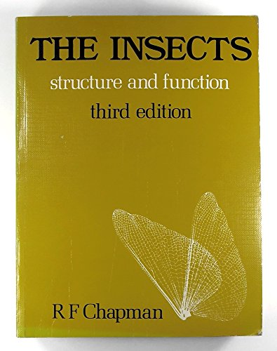 The Insects: Structure and Function (Biological Science: R.F. Chapman