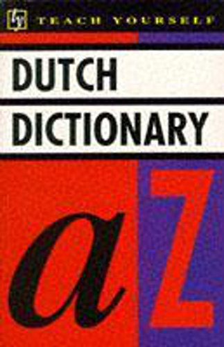 Dutch Dictionary (Teach Yourself): King, Peter