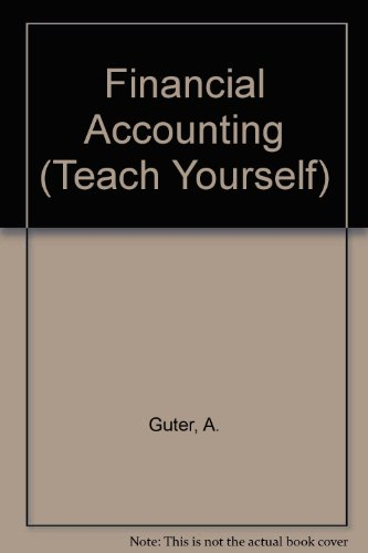 9780340265666: FINANCIAL ACCOUNTING (TEACH YOURSELF S.)