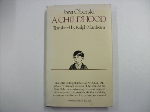 9780340268865: A Childhood