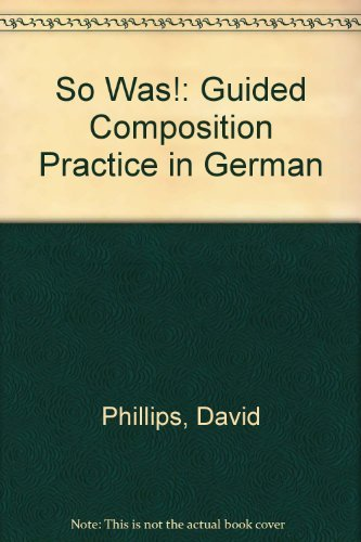 9780340269169: So Was!: Guided Composition Practice in German