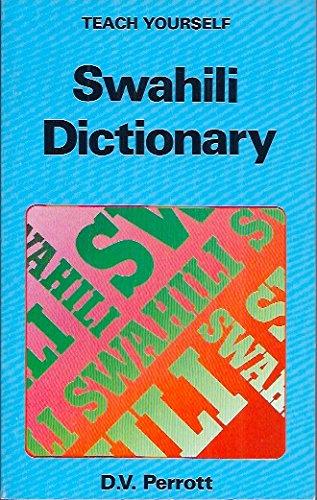9780340270547: Swahili Dictionary (Teach Yourself)