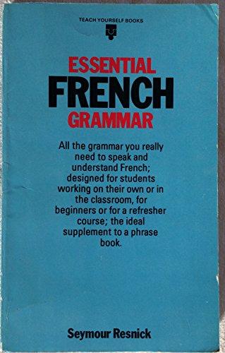 9780340272787: Essential French Grammar (Teach Yourself)