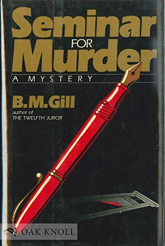 9780340274507: Seminar for murder