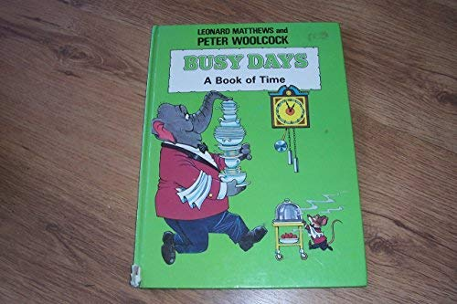 9780340279755: Busy Days: A Book of Time
