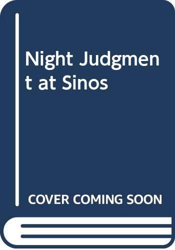 9780340320341: Night Judgment at Sinos