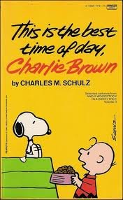 9780340320914: This is the Best Time of Day, Snoopy (Coronet Books)