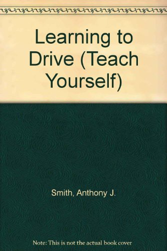 9780340329788 Learning To Drive Teach Yourself