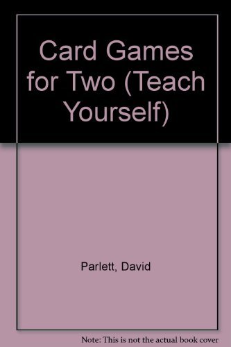 9780340329795: Card Games for Two (Teach Yourself S.)