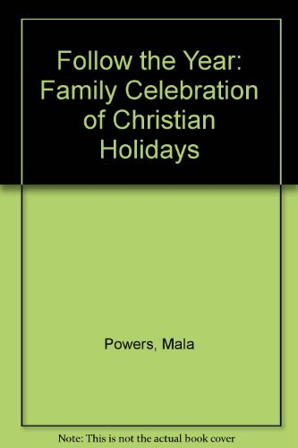 9780340330517: Follow the Year: Family Celebration of Christian Holidays