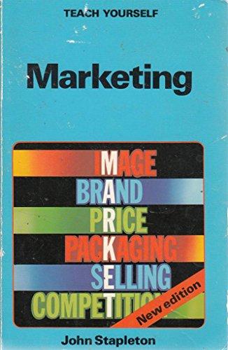 9780340339206: Marketing (Teach Yourself)
