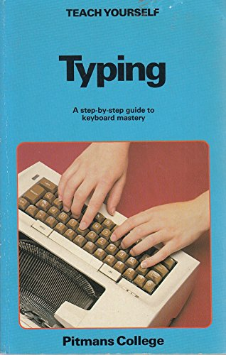 9780340343081: Typing (Teach Yourself)