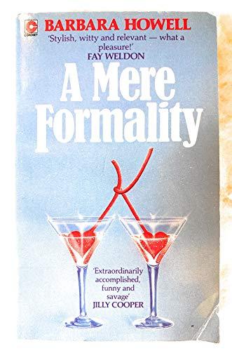 Mere Formality (Coronet Books): Howell, Barbara