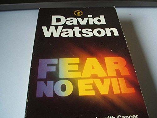 9780340346419: Fear No Evil: A Personal Struggle with Cancer (Hodder Christian Paperbacks)