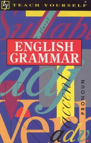 9780340358733: Teach Yourself English Grammar
