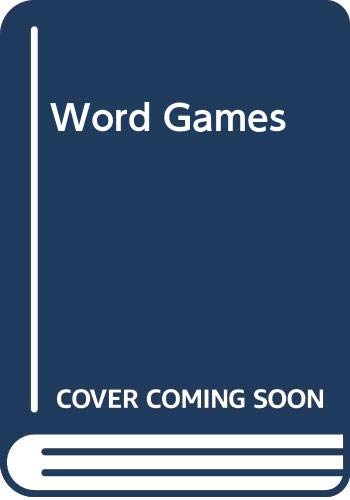 9780340360125: Word Games