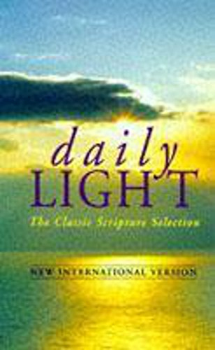 9780340361979: Daily Light: Morning and Evening Readings: New International Version