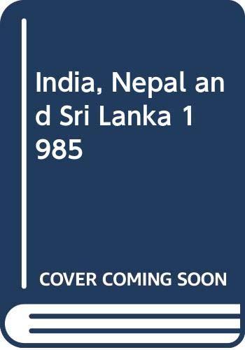 9780340362617: India, Nepal and Sri Lanka 1985