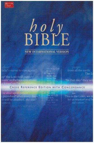 9780340363386: Bible: New International Version Cross Reference Bible