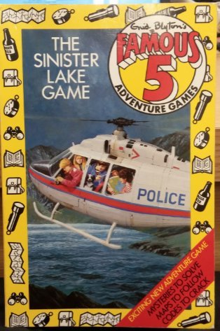 9780340364000: The Sinister Lake Game (Famous Five Adventure Games)