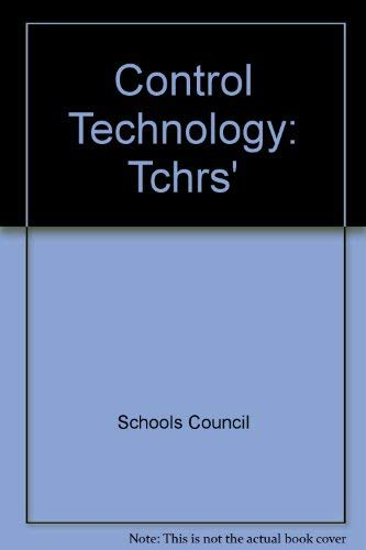 9780340364055: Control Technology: Tchrs'