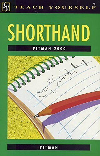 9780340376294: Shorthand Pitman 2000 (Teach Yourself)