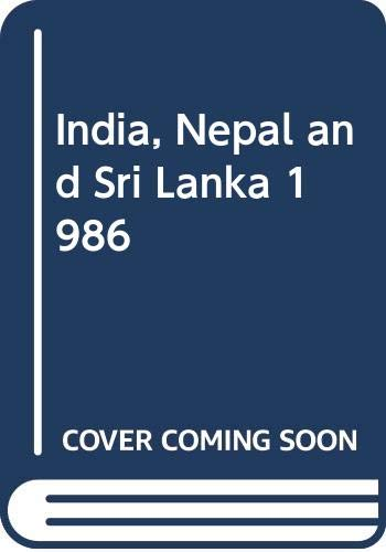 9780340383803: India, Nepal and Sri Lanka 1986