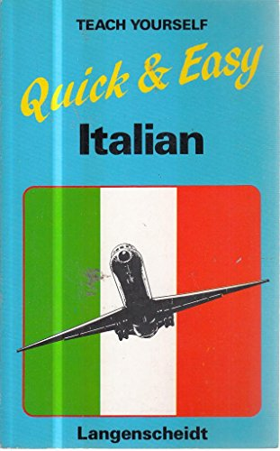 9780340387672: Ty Quick and Easy Italian Old Edition (Teach Yourself)