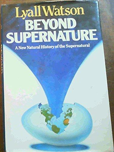 9780340388242: Beyond Supernature