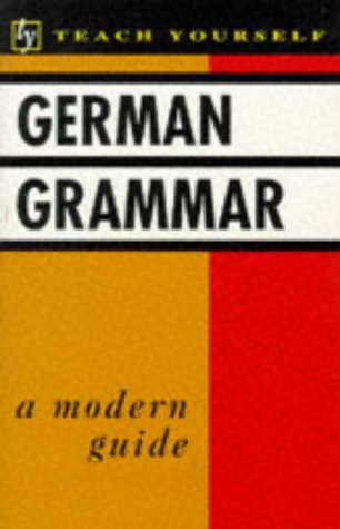 9780340391471: German Grammar (Teach Yourself)