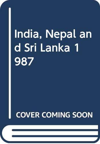 9780340400296: India, Nepal and Sri Lanka