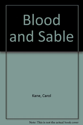 9780340401903: Blood & Sable