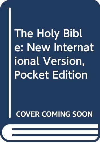 9780340402894: The Holy Bible, New International Version: Pocket Edition