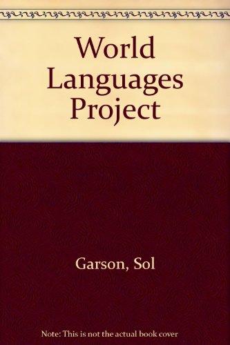 9780340411377: World Languages Project