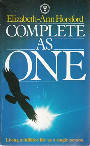 9780340414446: Complete as One: Living a Fulfilled Life as a Single Person (Hodder Christian paperbacks)