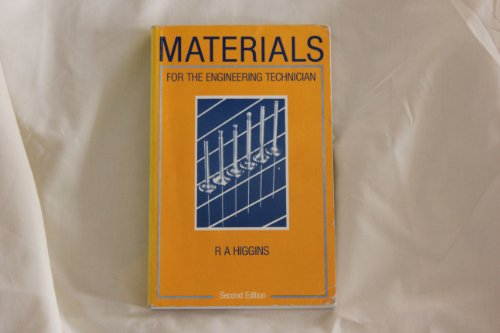 9780340414767: Materials for the Engineering Technician