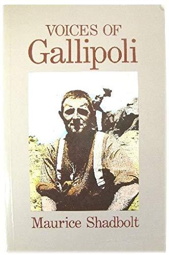 9780340416488: Voices of Gallipoli